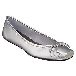 Mossimo® Desta Ballet Flats - Silver