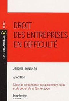 Télécharger Droit Des Entreprises En Difficulté PDF eBook En Ligne Jérôme Bonnard