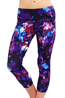 90-Degree-by-Reflex-Performance-Activewear-Printed-Yoga-Capri-Print-230-Cosmic-Violet-M