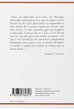 Livres Couvertures de Le zen dans l'art chevaleresque du tir à l'arc