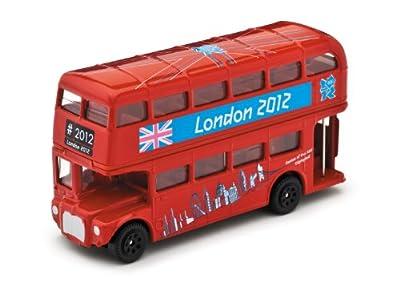 ▽【ハロッズ限定トミカ】グレートブリティッシュ クラシックス バス ロンドン 2012(ロンドン五輪公式)コーギー/CORGI【買付】 110417