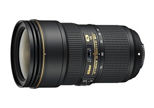 Nikon 24-70mm f/2.8E ED VR AF-S NIKKOR Zoom Lens for Nikon Digital SLR Cameras