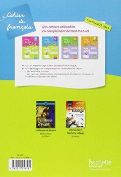 Livres Couvertures de Cahier de français 5e - édition 2013