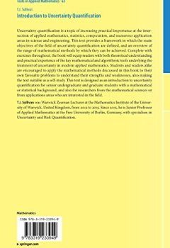 Livres Couvertures de Introduction to Uncertainty Quantification