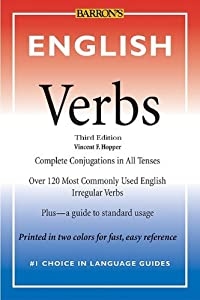 """Cover of """"English Verbs"""""""