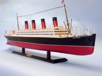 Lusitania-Limited-40-Wooden-Model-Cruise-Ship-Wood-Cruise-Liner-Model-Cruise-Ship-Replica-Model-Nautical-Decor-Model-Cruise-Ship-Decor-Sold-Fully-Assembled-Not-A-Model-Ship-Kit