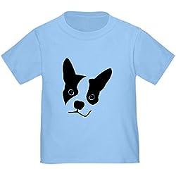 CafePress - Boston Terrier - Cute Toddler T-Shirt, 100% Cotton