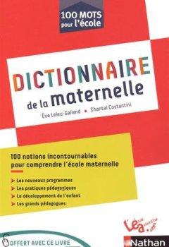 Livres Couvertures de Dictionnaire de la maternelle