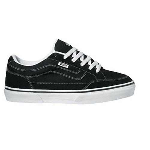 Vans M BEARCAT VDT2BZW, Herren Sneaker, Schwarz (black/white), EU 42.5 (US 9.5)