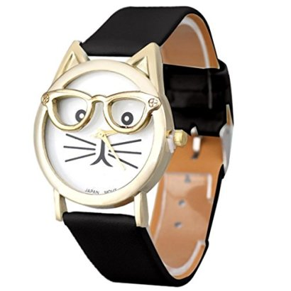 GOTD-Womens-Girls-Cute-Glasses-Cat-Analog-Quartz-Dial-Wrist-Watch