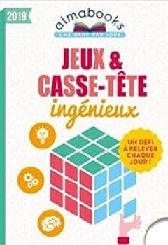Livres Couvertures de Almabook Jeux Et Casse Tête Ingénieux 2019
