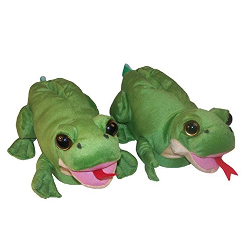 Comfy Feet Frog Animal Feet Slippers