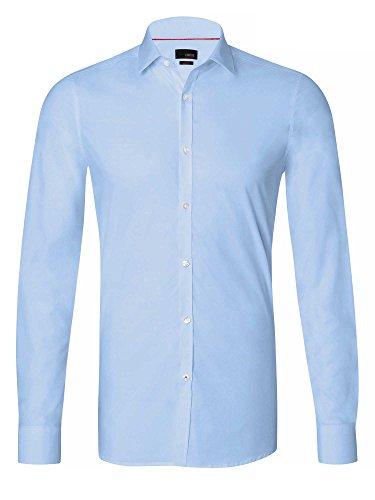 CINQUE Herren Businesshemd Slim Fit hellblau 39/M
