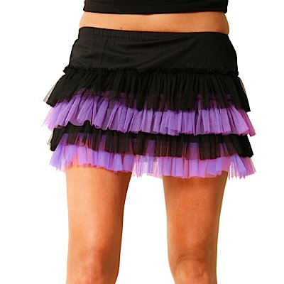 Dead Threads Minirock TUTU 8906 black-purple