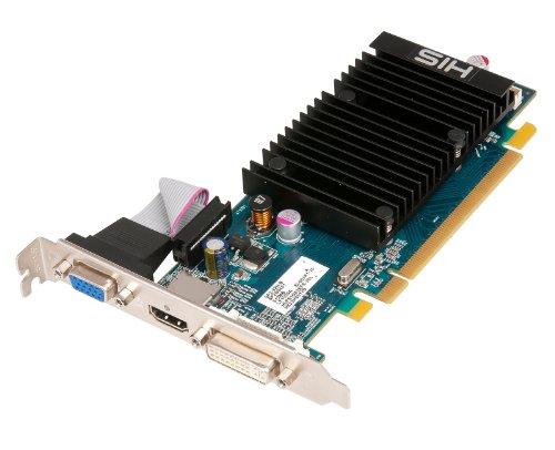 HIS Radeon HD 5450 Silence 1 GB (64bit) DDR3 HDMI DL-DVI (HDCP) VGA PCIe 2.1 X16 Video Card, H545HR1G