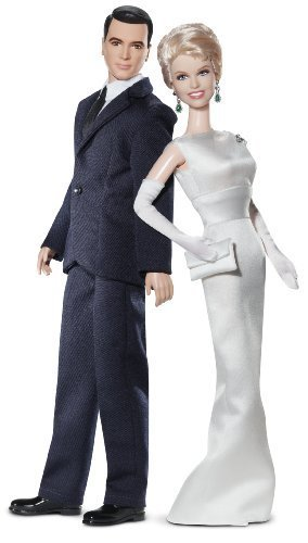 Barbie Collector Pillow Talk: Doris Day And Rock Hudson Doll Gift Set by Barbie