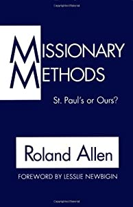 "Cover of ""Missionary Methods: St. Paul's ..."