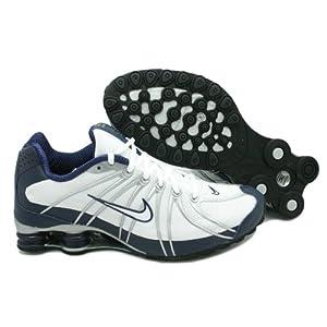 save off 05a0f e217f Men Nike Shox Turbo OZ SI White   Blue   Metallic Silver 356884-111