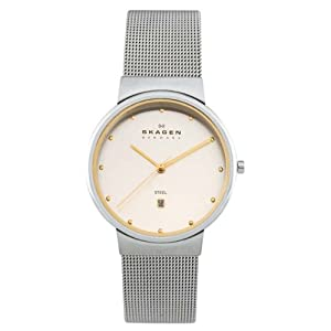 Skagen Women's Two-Tone Mesh Watch #355SGSC