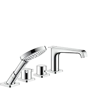 Hansgrohe 39400821 Axor Citterio Tub Filler Brushed Nickel