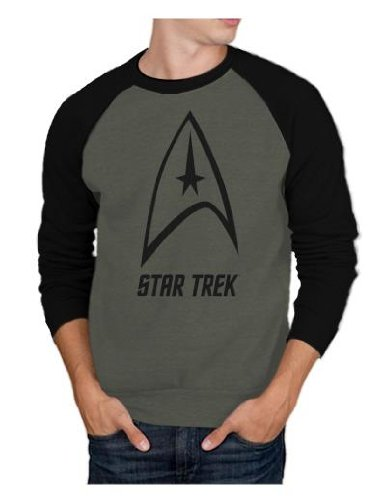 Star Trek Logo Mens Sweatshirt L