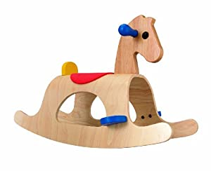 plan toys palomino rocking horse review