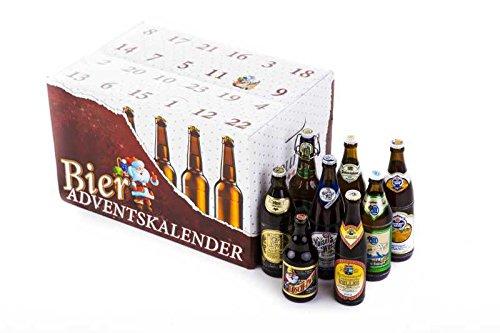 Bier Adventskalender 'Bayerisches Bier' (24 Flaschen / 6,0% vol.)