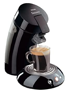 Philips Senseo coffee maker, using coffee pads to make delicious coffee everytime