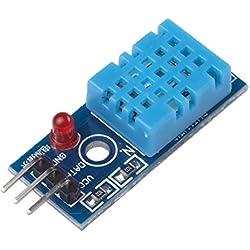 Ecloud Shop® Nueva Temperatura y Humedad Relativa Módulo Sensor DHT11 para Arduino