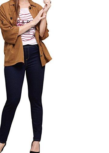 VIOLETA (Plus Size) – Dunkle Jeans jeggings