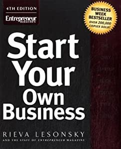 """Cover of """"Start Your Own Business"""""""