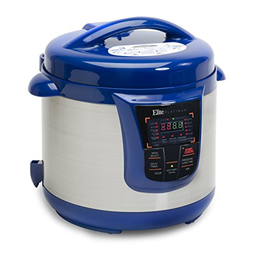 Elite Platinum Maxi-Matic 8 Quart Pressure Cooker