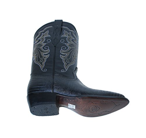 Cowboy Boots Genuine Leather Ostrich Embossed Cowboy Handmade Luxury Boots
