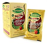 Artisana Raw Organic Cashew Butter - 10.6 oz box (travel packs)