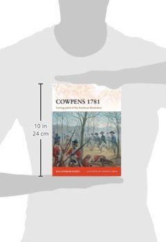 Livres Couvertures de Cowpens 1781: Turning point of the American Revolution