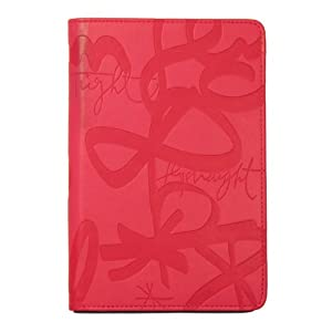 "Verso Kindle Cover, Urban Calligraphy by Sisters Gulassa (Fits 6"" Display, Latest Generation Kindle), Pink/Grey"