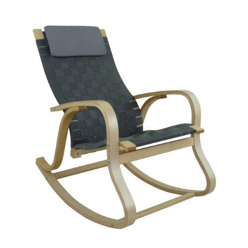 rocking chair naturel pas cher