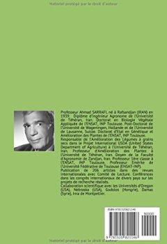 Livres Couvertures de METHODOLOGIE DE LA SELECTION VEGETALE: Professeur A. SARRAFI