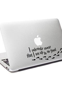 Livres Couvertures de Sticker Macbook Harry Potter I Solemnly Swear That I Am Up to No Good