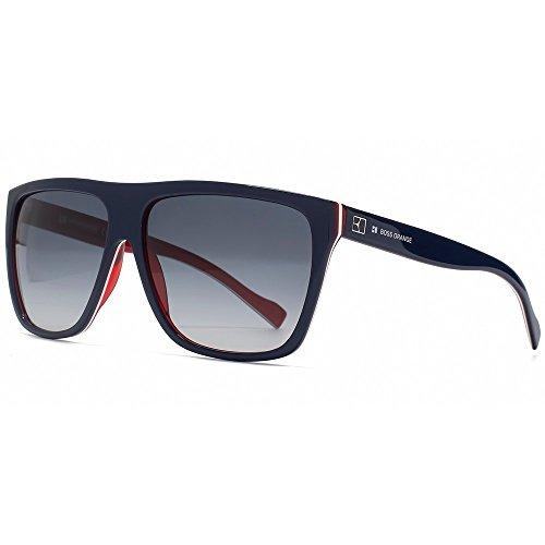 BOSS Orange Flat Top Sonnenbrillen Schwarz Auf Braun Bo 0082/s 7v8 58