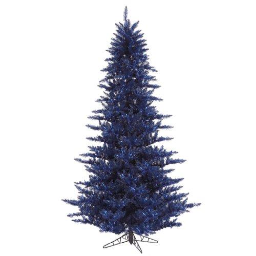 navy christmas tree