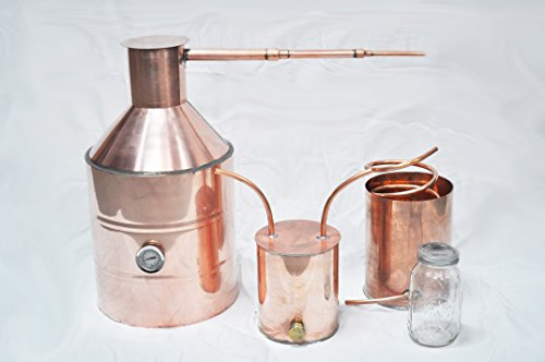 5 gallon copper moonshine still,video review,(VIDEO Review) 5 Gallon Copper Moonshine Still,