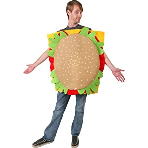 Adult's Hamburger Halloween Costume
