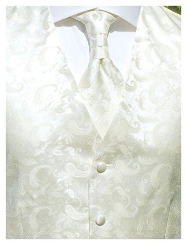 Charmante-Paisley-Hochzeitsweste-im-Set-von-Lorenzo-Guerni-creme