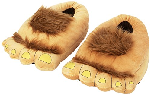 Think Geek Furry Adventure Slippers