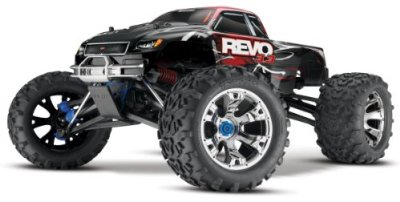 Traxxas-RTR-110-Monster-Revo-33-4WD-Monster-Truck-24GHz-Colors-May-Vary