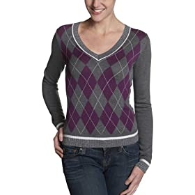 Buffalo Jeans Women's Sydney Argyle Sweater