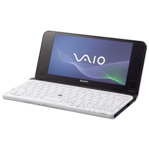 SONY VAIO Pシリーズ P119 Win7HomePremium 32bit ホワイト VPCP119KJ/W