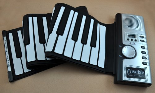 61 Keys Flexible Soft Roll Up Electronic Keyboard For Piano promo items