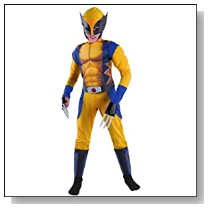Wolverine Origins Classic Muscle Costume - Small